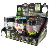 3D Sugar Skull Butt Bucket Ashtray | Wholesale Distributor